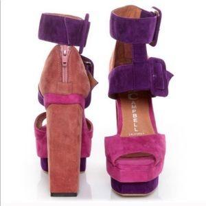 Jeffrey Campbell Color Block Heels